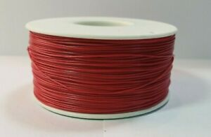30 Awg Gauge Stranded Wire Red 25 Ft 0 0100 600 Volts Usa Sold ship