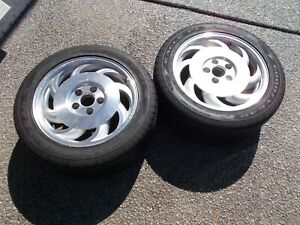 1993 1996 Corvette Saw Blade Wheels With Tires
