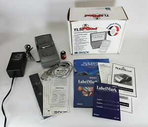 Brady Tls Pc Link Thermal Label Printer Labeling System W Power Supply Extras