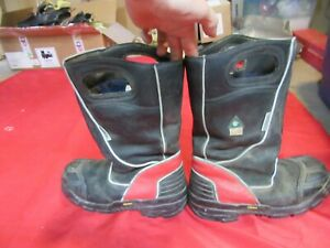Mfg 2011 Fire dex Fdxl100 Leather Structural Fire Fighting Boot Size 11 M
