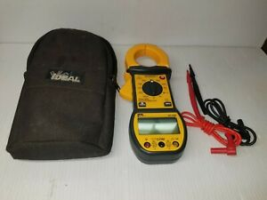 Ideal 61 722 Digisnap Volt Ohm Clamp Multimeter