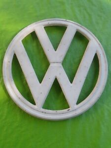 Volkswagen Vw Bus vanagon Original Emblem Front 4 Prong Vintage Antique Vw Van
