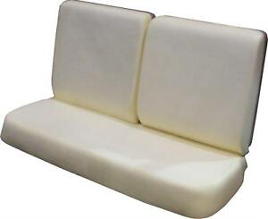 Pui Bench Seat Bun Foam Set 1964 1967 Gto Lemans Tempest Cutlass Chevelle
