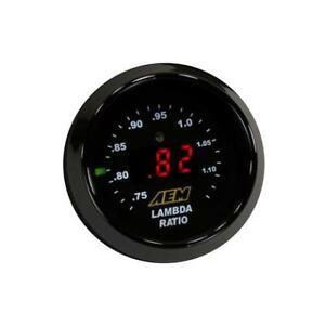 Aem 30 4110 Wideband Gauge Controller Afr O2 Air Fuel Ratio 2 1 16 52mm