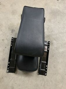 66 77 1966 1977 Early Ford Bronco Middle Seat Center Armrest Black Nice