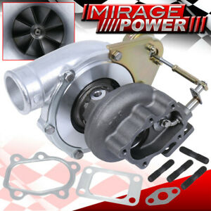 Gt30 Gt3076r Turbo Charger 4 Bolt Flange 0 63 Ar Oil water Cooled Turbine
