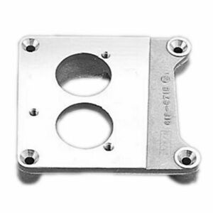 Holley 17 45 Tbi Adapter Square Bore To Tbi Flange For 2 Bbl Pro Jection New