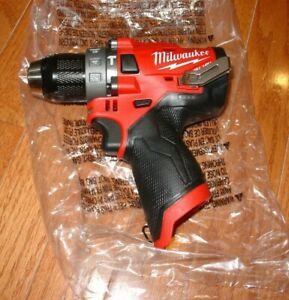 Brand New Milwaukee 2504 20 M12 12v Fuel Brushless 1 2 Hammer Drill Tool only
