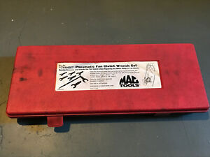 Mac Tools Fcwahset Pneumatic Fan Clutch Wrench Set For Ford Gm Chrysler