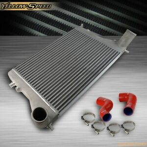 Red Twin Intercooler Kit For Vw Golf Mk6 Mk5 Gti Fsi Jetta 2 0t Audi A3 Turbo