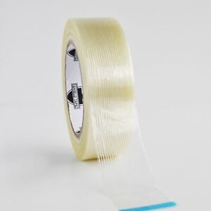 24 Rolls Filament Tape 2 X 60 Yards 4 Mil General Purpose Packing Tapes