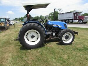 2004 New Holland Tn60a 4x4 Utility Tractor