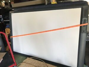 Lot Of 4 Promethean Activboards Abv378pro 71 X 52 5 With 2 Projectors