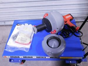 Ridgid Electric Battery Drain Cleaning Machine For 3 4 To 2 1 2 Pipe K 45 5