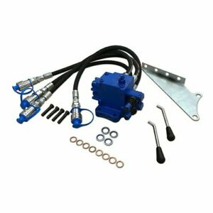 Double Acting Hydraulic Remote Valve Kit Double Spool Ford 4110 4000 2000