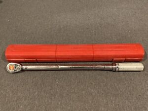 Snap On Qjr 3200 C Click Type Torque Wrench 200 Ft Lbs 1 2 Drive Ratchet