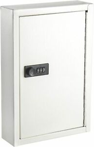 Wall Mounted Duty Steel 40 Key Storage Organizer Cabinet With Combination Lock