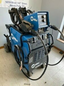 Miller Pipeworx 400 Advanced Process Dual Mig Rmd Welding System W Wire Feeder