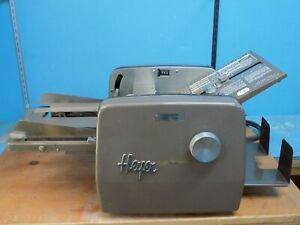 Table Top Paper Folding Machine By Heyer
