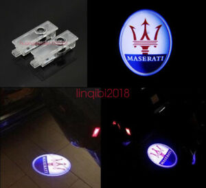 Led Door Light Welcome Courtesy Laser Projector For Maserati Quattroporte Ghibli