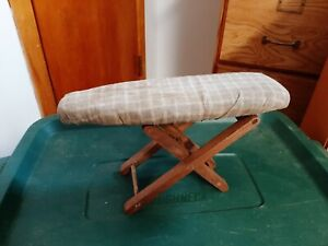 Salesman Sample Primitive Ironing Board Country Toy Display
