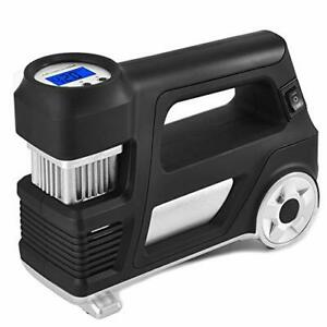 Air Compressor Pump Car Tire Inflator 12v Dc Digital Auto Portable Air Pump 150p