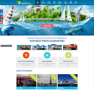 Established Profitable Fully Automated Turn key Travel Business Website