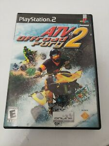 ATV Offroad Fury 2 Sony PlayStation 2 2002 Complete PS2 SONY w/ Manual