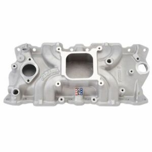 Edelbrock 5001 Small Block Chevy Torker Ll Aluminum Single Plane Intake