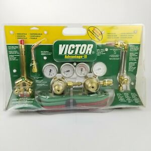 Victor Advantage Ii 250 Oxyacetylene Torch Cutting Kit New Old Stock