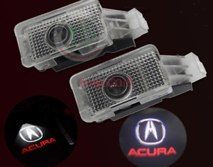 2x Led Laser Door Ghost Shadow Projector Lights For Acura Tlx Rlx Mdx Tl Zdx