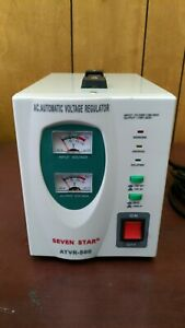 Seven Star Atvr 500 Automatic Voltage Regulator