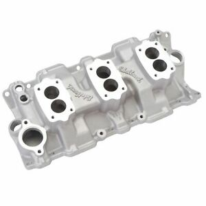 Edelbrock 5419 Small Block Chevy C 357 b Triple deuce Intake