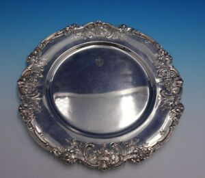 Francis I By Reed And Barton Sterling Silver Charger Plate 571a 4754
