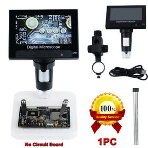 1000x 4 3 Hd Lcd Monitor Electronic Digital Video Microscope Led Magnifier
