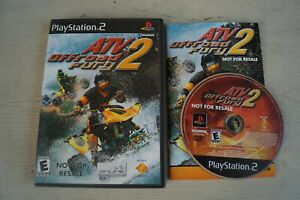 ATV Offroad Fury 2 (Sony PlayStation 2  2002) * Complete *
