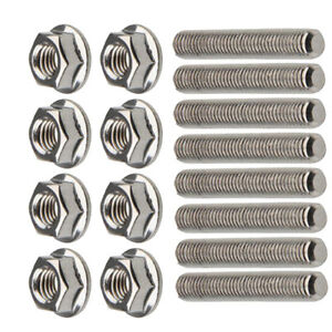 Exhaust Manifold Stud Assembly Bolts Kit For Ford 4 6 5 4 Liter V8 F 150 250 350