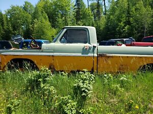 71 Ford Truck 2x4 project