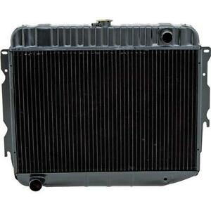Oer Md2298a 1970 72 Mopar B e body Bb V8 26 In Wide Rep Radiator