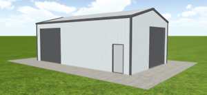 Steel Building 24x40 Simpson Metal Building Kit Garage Workshop Prefab Structure