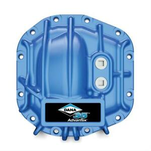 Blue Nodular Iron Rear Differential Cover For Jeep Jl Wrangler With Dana 35 Diff
