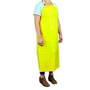 Heavy Duty Nitrile Bib Apron Chemical Resistant pack Of 1