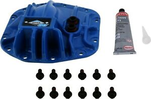 Blue Nodular Iron Front Differential Cover For Jeep Jl Wrangler With Dana 30