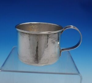 Arts And Crafts By William Kerr Sterling Silver Baby Cup Hand Hammered 4780