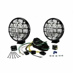 Kc Hilites 152 6 Apollo Pro Pair Pack System Black Spread 100 Watts New