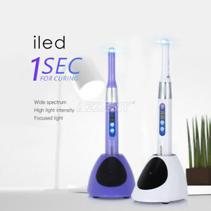 Woodpecker Dte Style Wireless Dental Iled Curing Light Upgrate 1 Sec Cure 1600mw