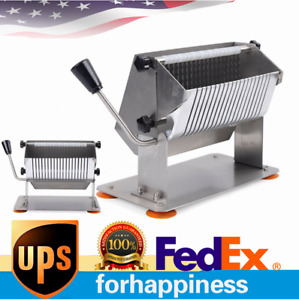 Manual Sausage Slicer Commercial home Use Cutter Food Cutting Us Shipping