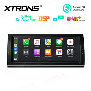 For Bmw X5 E53 10 25 Android 10 0 4 Core Car Stereo Radio Gps Usb Sd Dab Obd2