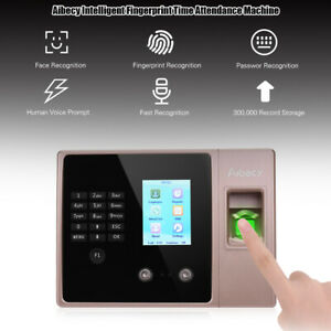 Biometric Fingerprint Password Attendance Clock Machine Check in Recorder L9n5