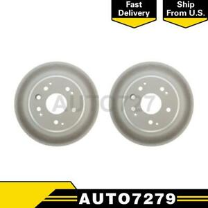 Centric Parts Rear 2pcs Disc Brake Rotor For Honda Element 2003 2011